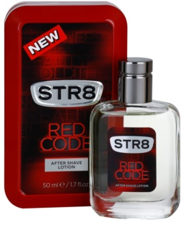 STR8 Red Code after shave pentru barbati 50 ml