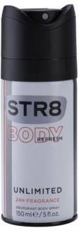 STR8 Unlimited Deo Spray voor Mannen 150 ml