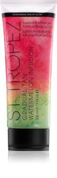 St.Tropez Gradual Tan Watermelon Infusion crema autobronceadora corporal de bronceado gradual