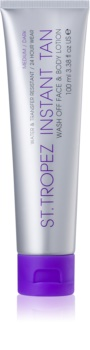 St.Tropez One Night Only Wash Off Face and Body Lotion