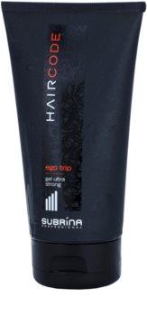 Subrina Professional Hair Code Ego Trip gel de cabelo fixação ultraforte