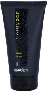 Subrina Professional Hair Code Splash gel com efeito molhado