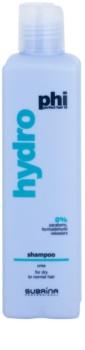 Subrina Professional PHI Hydro champô hidratante  para cabelo seco e normal