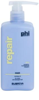Subrina Professional PHI Repair megújító maszk a károsult hajra
