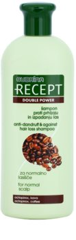 Subrina Professional Recept Double Power šampón proti lupinám a vypadávaniu vlasov