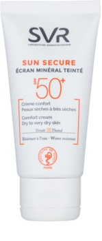SVR Solaires мінеральний тонуючий крем для сухої шкіри обличчя SPF 50