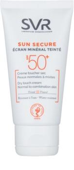 SVR Solaires crema nuantatoare cu minerale pentru piele normala spre mixta SPF 50+