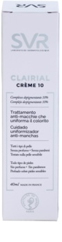 SVR Clairial Crème 10 fluid rozświetlający przeciw przebarwieniom