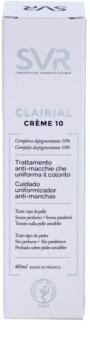 SVR Clairial Crème 10 loción aclarante de manchas profundas