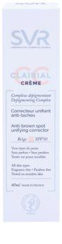SVR Clairial krem CC przeciwko plamom pigmentowym SPF 50