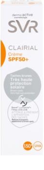 SVR Clairial ochranný krém proti pigmentovým skvrnám SPF50+