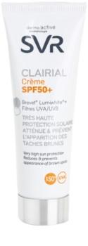 SVR Clairial zaštitna krema protiv pigmentnih mrlja SPF 50+