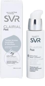 SVR Clairial Peel esfoliante químico concentrado anti-manchas escuras