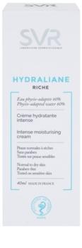SVR Hydraliane výživný pleťový krém pro intenzivní hydrataci