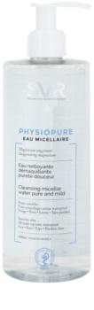 SVR Physiopure agua micelar limpiadora suave para rostro y contorno de ojos