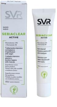 SVR Sebiaclear Active intenzivní gelový krém proti nedokonalostem aknózní pleti