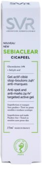 SVR Sebiaclear Cicapeel traktament local impotriva imperfectiunilor pielii cauzate de acnee