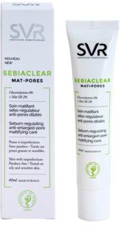 SVR Sebiaclear Mat+Pores matující fluid na regulaci kožního mazu