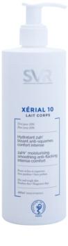 SVR Xérial 10 vlažilni losjon za telo za suho kožo