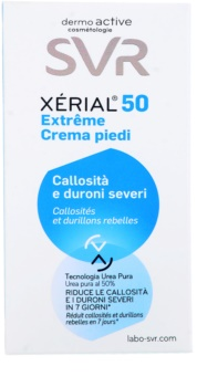 SVR Xérial 50 crema intensiva pe bataturi si  negi pe talpa