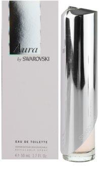 Swarovski Aura toaletna voda za ženske 50 ml polnilna
