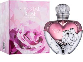 Swiss Arabian Crystal Rose parfémovaná voda pro ženy 50 ml