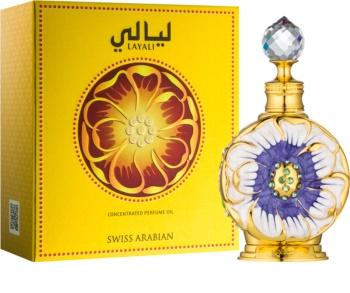 Swiss Arabian Layali Geparfumeerde Olie  Unisex 15 ml