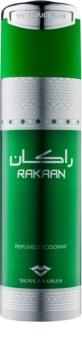 Swiss Arabian Rakaan deodorant Spray para homens 200 ml