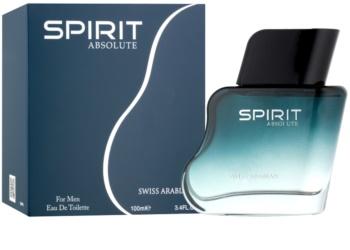 Swiss Arabian Spirit Absolute eau de toilette férfiaknak 100 ml