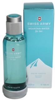 Swiss Army Mountain Water Woman Eau de Toilette für Damen 100 ml