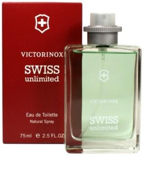 Swiss Army Unlimited eau de toilette para homens 75 ml