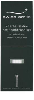 Swiss Smile Herbal Bliss zubní kartáčky soft 2 ks