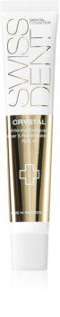Swissdent Crystal krem do zębów o działaniu regenerującym i wybielającym