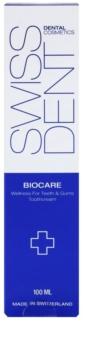 Swissdent Biocare dentifrico branqueador e restaurador