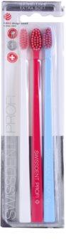 Swissdent Gentle Trio Toothbrush
