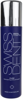 Swissdent Pure apa de gura pentru o respiratie proaspata