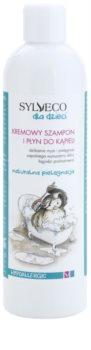 Sylveco Baby Care champô e espuma de banho para crianças