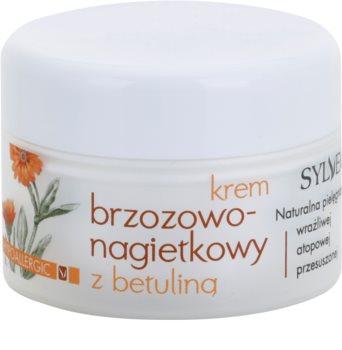 Sylveco Face Care Hautcreme mit Ringelblume für empfindliche und irritierte Haut