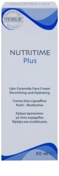 Synchroline Nutritime Plus nährende und feuchtigkeitsspendende Creme mit Ceramiden