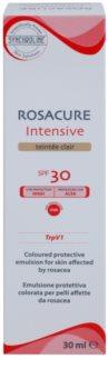 Synchroline Rosacure Intensive emulsión tonificante para pieles sensibles con tendencia a rojeces SPF30