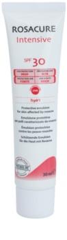Synchroline Rosacure Intensive ochranná emulze pro citlivou pleť se sklonem ke zčervenání SPF30