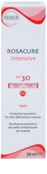 Synchroline Rosacure Intensive emulsión protectora para pieles sensibles con tendencia a las rojeces SPF 30