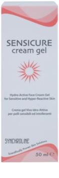 Synchroline Sensicure crema hidratante con textura de gel para pieles sensibles e intolerantes