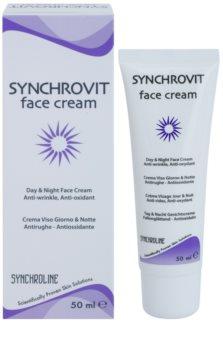 Synchroline Synchrovit creme de dia e noite  para pele madura