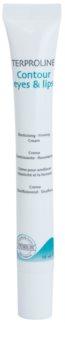 Synchroline Terproline festigende Konturencreme für Augen und Lippen