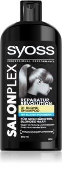 Syoss Salonplex šampón pre zosvetlené a blond vlasy