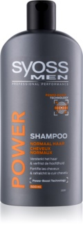 Syoss Men Power & Strength shampoing pour fortifier les cheveux