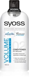 Syoss Volume Collagen & Lift kondicionér pro jemné a zplihlé vlasy