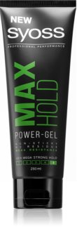 Syoss Max Hold Hair Gel with Strong Hold for Men