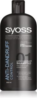 Syoss Anti-dandruff Control šampon proti lupům